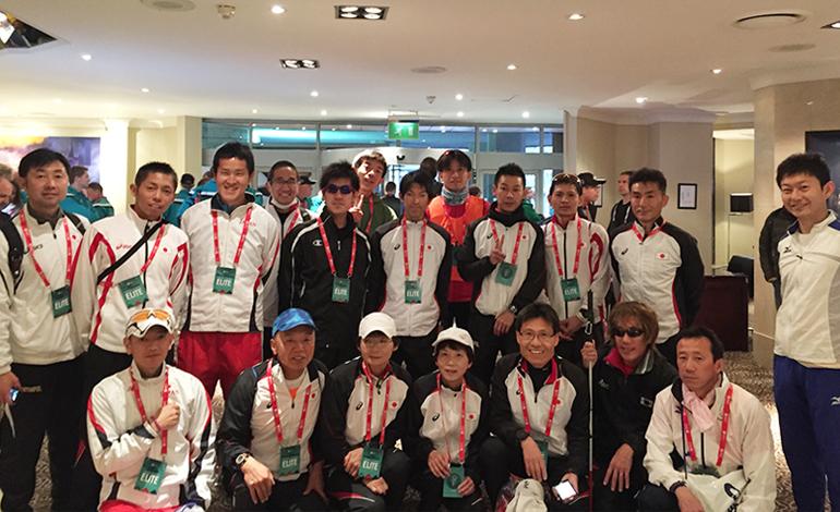 2016年ロンドンマラソン参加者集合写真
