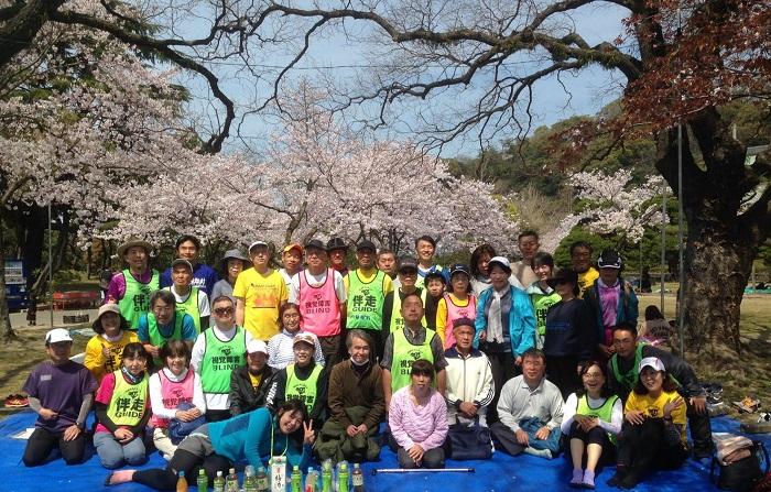 徳島中央公園 練習会の写真
